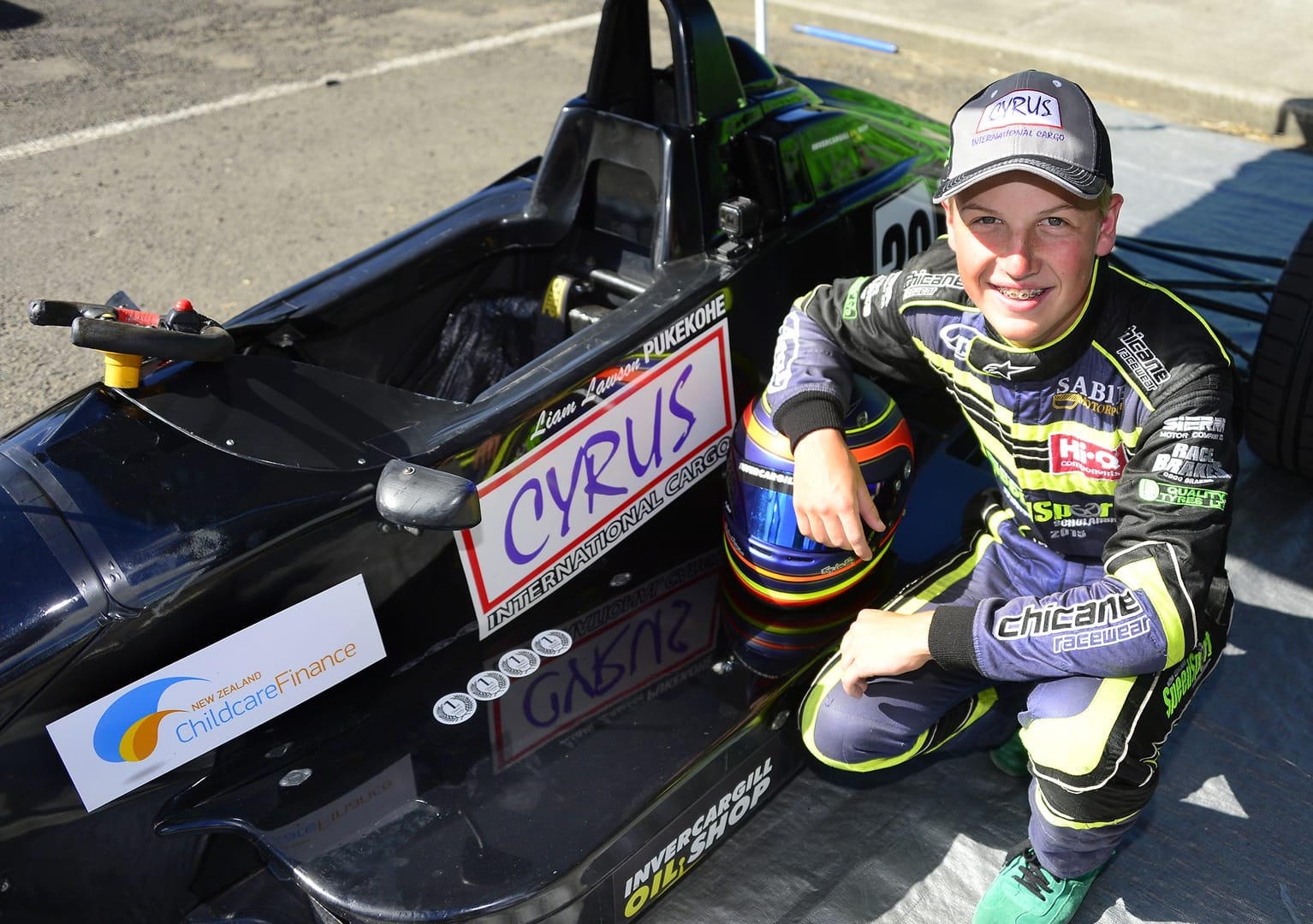 Youngest Formula Ford champion