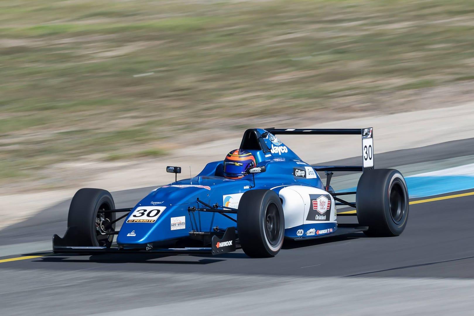 Lawson leads Australian Formula 4 championship after stunning debut