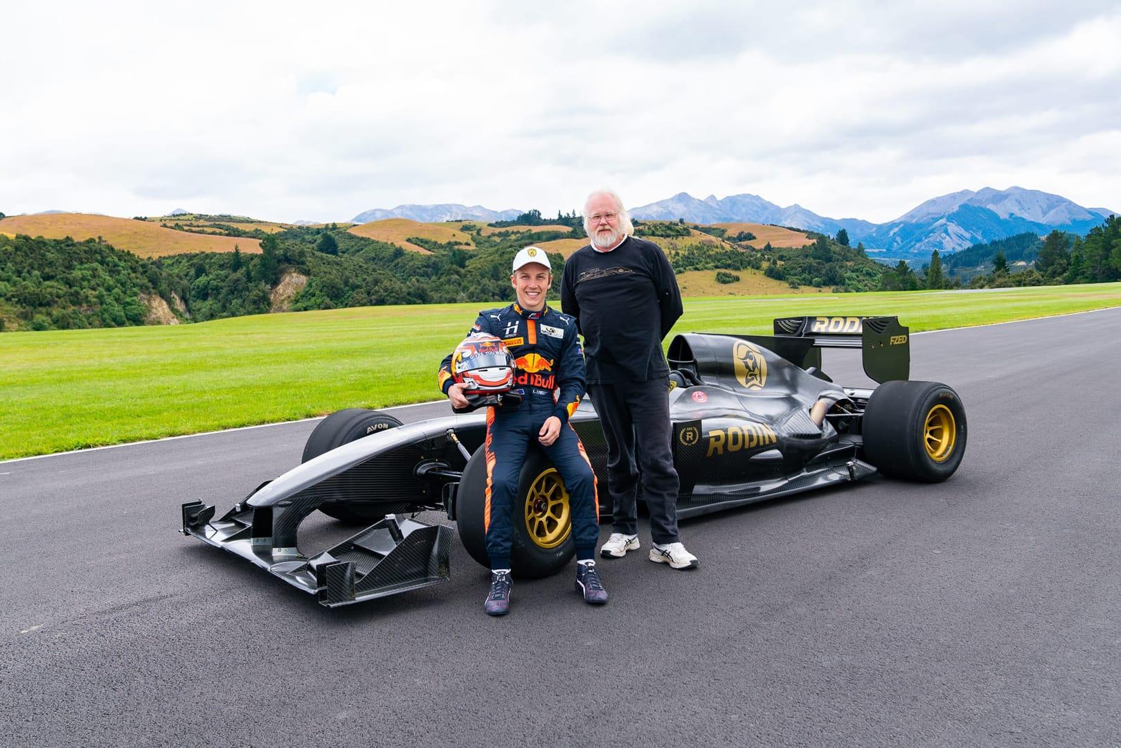 Rodin Cars Announces Formula 2 Partnership With Liam Lawson