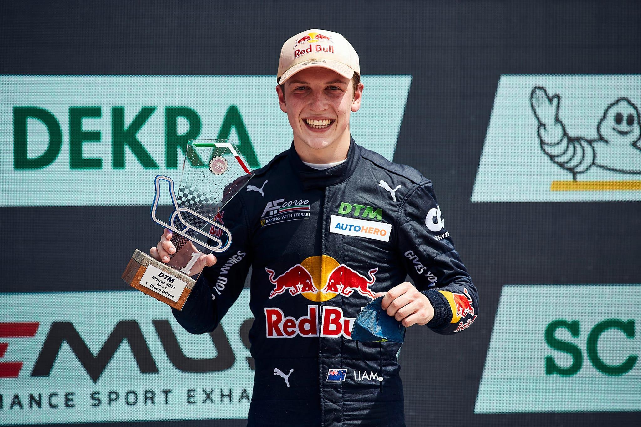 Lawson makes history at Monza!