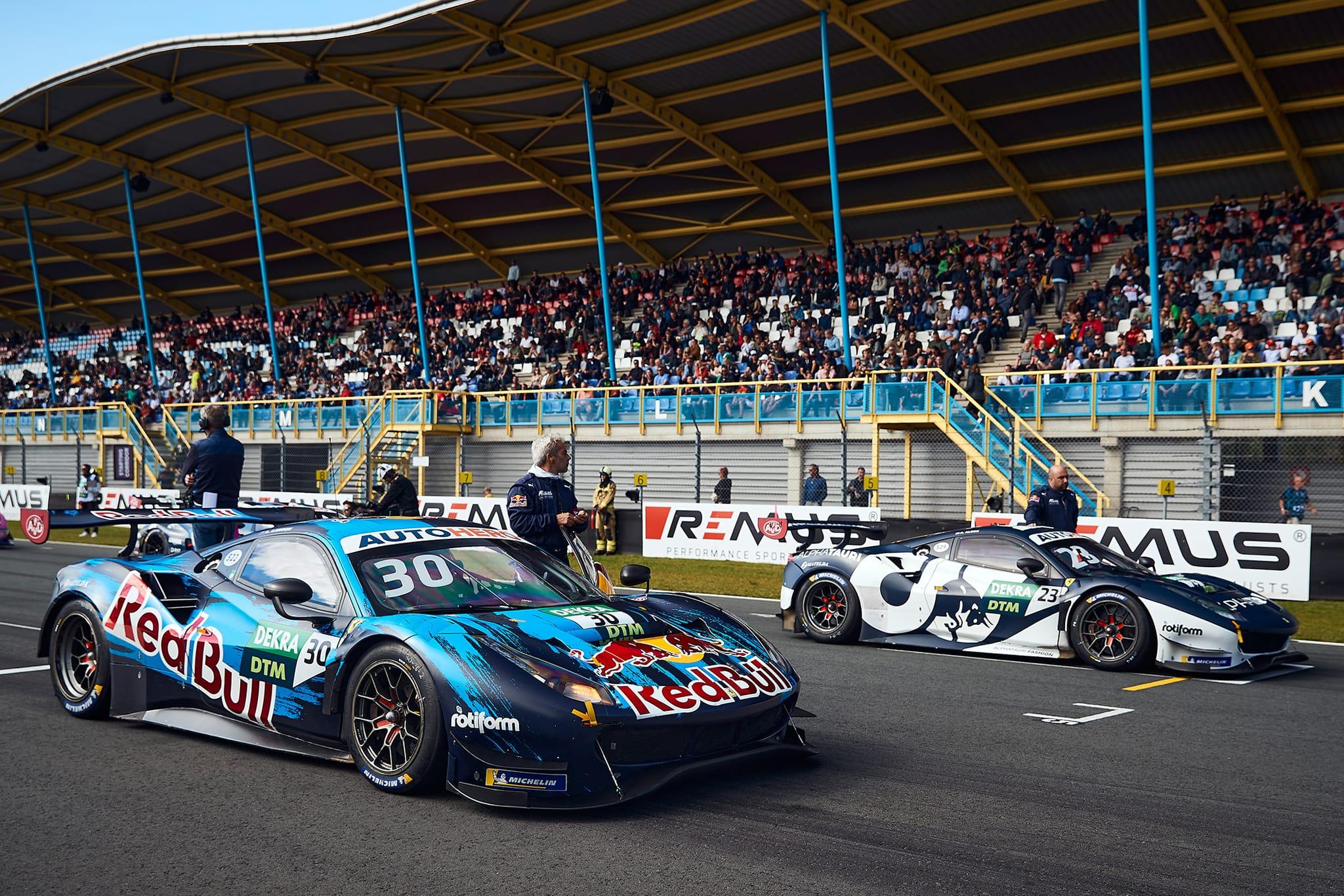 Two Kiws, two Ferraris, one final