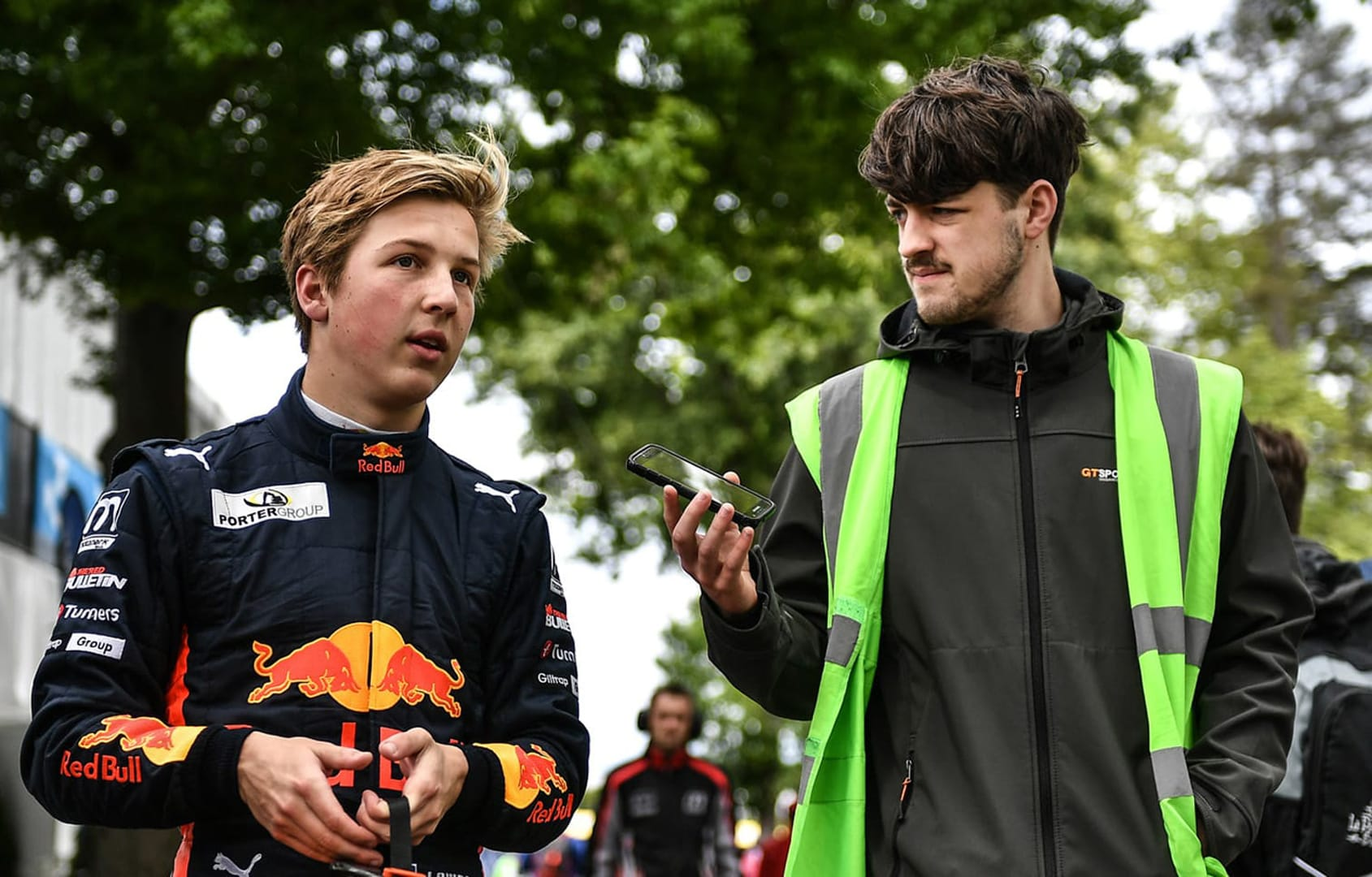A storming drive to the podium for Lawson